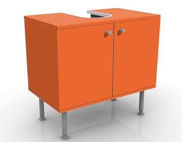 Waschbeckenunterschrank - Colour Orange - Badschrank Orange