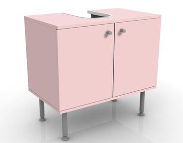 Waschbeckenunterschrank - Colour Rose - Badschrank Rosa