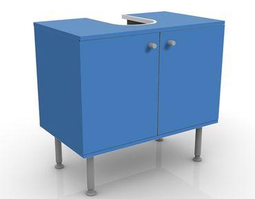 Waschbeckenunterschrank - Colour Royal Blue - Maritim Badschrank Blau