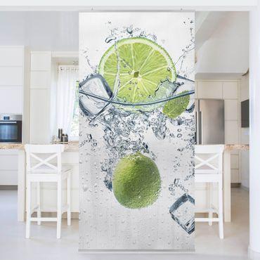 Raumteiler - Erfrischende Limette 250x120cm