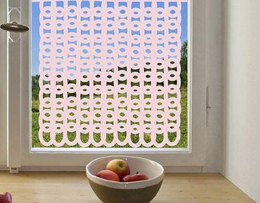 Fensterfolie - Sichtschutzfolie No.1059 Grob Gestrickt II - Milchglasfolie