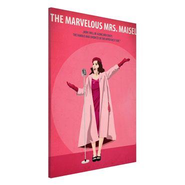 Magnettafel - Filmposter The marvelous Mrs Maisel - Memoboard Hochformat 3:2