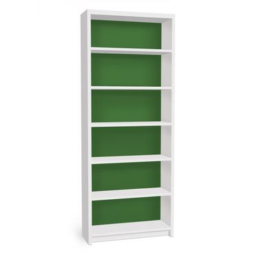 Möbelfolie für IKEA Billy Regal - Klebefolie Colour Dark Green