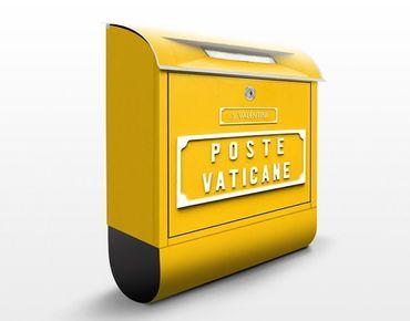 Briefkasten mit Wunschtext - Briefkasten im Vatikan - mit Zeitungsfach