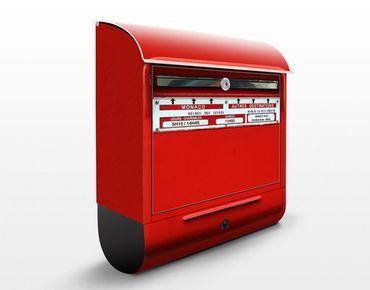 Französischer Briefkasten - Briefkasten in Frankreich - mit Zeitungsfach