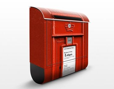 Englischer Briefkasten - Briefkasten in UK - mit Zeitungsfach