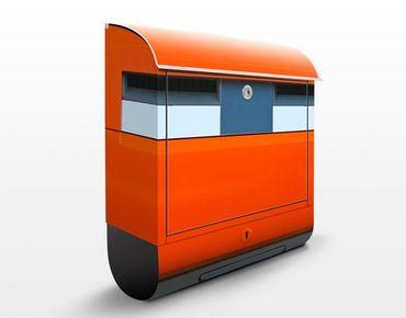 Niederländischer Briefkasten - Briefkasten in Holland - mit Zeitungsfach