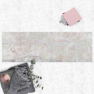 Vinyl-Teppich - Shabby Betonoptik - Panorama Quer