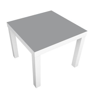 Möbelfolie für IKEA Lack - Klebefolie Colour Cool Grey