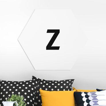 Hexagon Bild Forex - Buchstabe Weiß Z