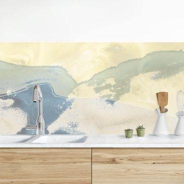 Küchenrückwand - Ozean und Wüste II
