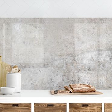 Küchenrückwand - Shabby Betonoptik