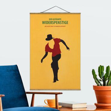 Stoffbild mit Posterleisten - Filmposter Der gezähmte Widerspenstige - Hochformat 2:3