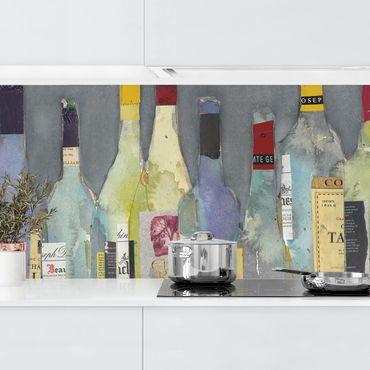 Küchenrückwand - Entkorkt - Spirituosen