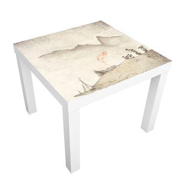 Möbelfolie für IKEA Lack - Klebefolie No.MW8 Japanische Stille