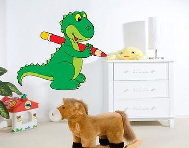 Wandtattoo Kinderzimmer No.186 Dino Drollig