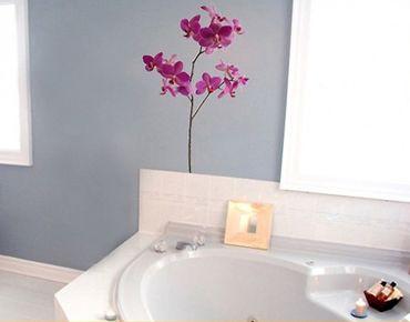Wandtattoo Orchidee No.SB7 Pink Orchidee