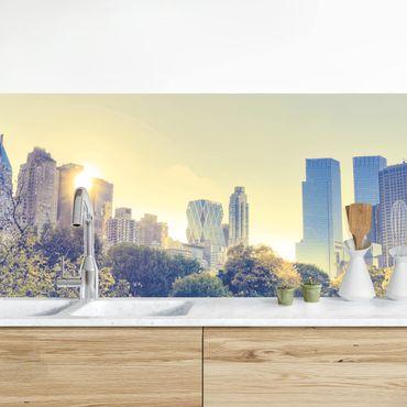 Küchenrückwand - Peaceful Central Park