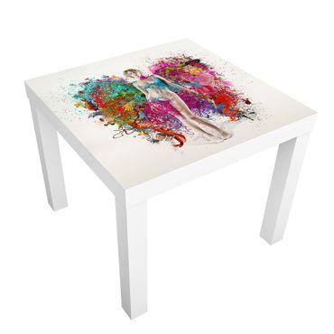 Möbelfolie für IKEA Lack - Klebefolie Beflügelte Gedanken