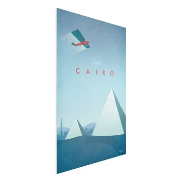 Forex Fine Art Print - Reiseposter - Cairo - Hochformat 3:2