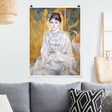 Poster - Auguste Renoir - Junges Mädchen mit Schwan - Hochformat 3:4
