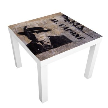Möbelfolie für IKEA Lack - Klebefolie Al Capone