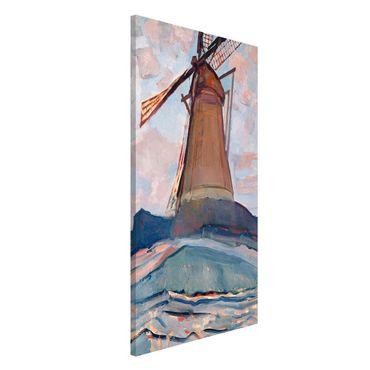 Magnettafel - Piet Mondrian - Windmühle - Memoboard Hochformat 4:3