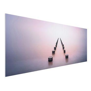 Forex Fine Art Print - Zen am Strand - Panorama