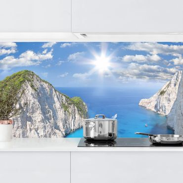 Küchenrückwand - Meeresbucht