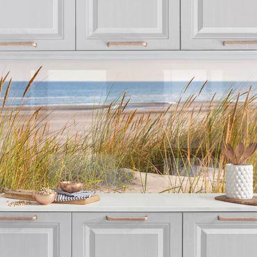 Küchenrückwand - Stranddüne am Meer