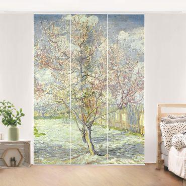 Schiebegardinen Set - Vincent van Gogh - Blühende Pfirsichbäume - Flächenvorhänge