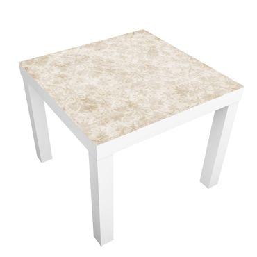Möbelfolie für IKEA Lack - Klebefolie Antiker Damast