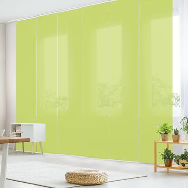 Schiebegardinen Set - Frühlingsgrün - Flächenvorhänge