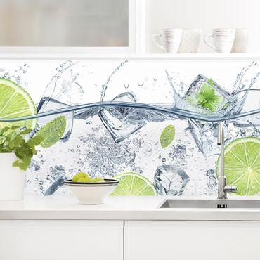 Küchenrückwand - Erfrischende Limette