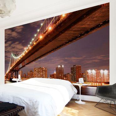 Fototapete Manhattan Bridge