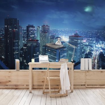 Fototapete Die Atmosphäre Tokios