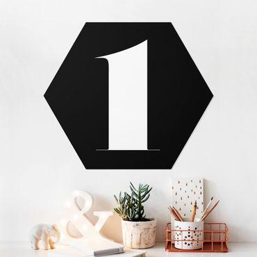 Hexagon Bild Forex - Antiqua Zahl 1