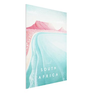 Forex Fine Art Print - Reiseposter - Südafrika - Hochformat 4:3