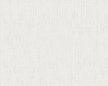 Architects Paper Unitapete Metallic Silk in Weiß