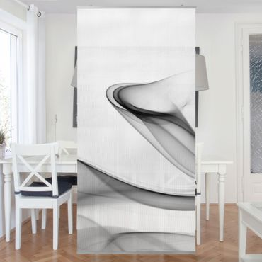 Raumteiler - Grey Flame 250x120cm