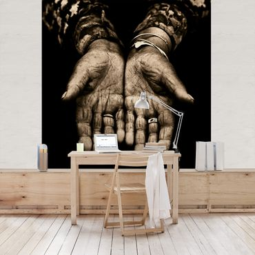Fototapete Indian Hands
