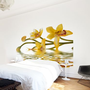 Fototapete Saffron Orchid Waters