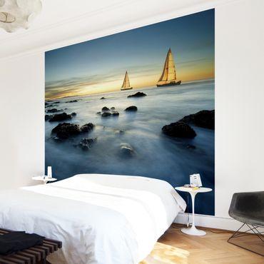 Fototapete Segelschiffe im Ozean