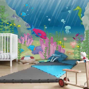 Fototapete Unterwasserwelt