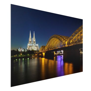 Forexbild - Köln bei Nacht