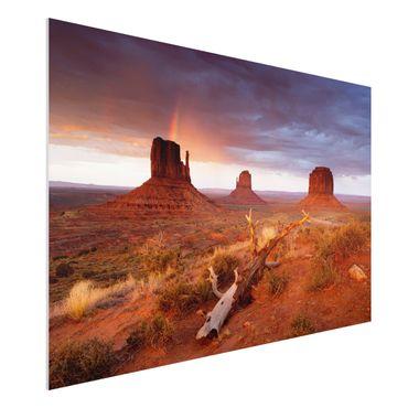 Forexbild - Monument Valley bei Sonnenuntergang