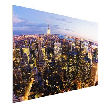 Forexbild - New York Skyline bei Nacht