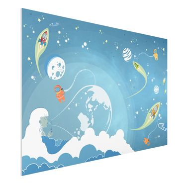 Forexbild - Buntes Weltraumtreiben