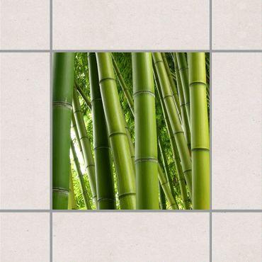 Fliesenaufkleber - Bamboo Trees No.1