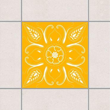 Fliesenaufkleber - Bandana Melon Yellow Gelb